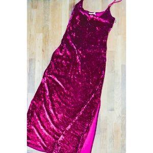 Vtg 80's Victoria's Secret Dress